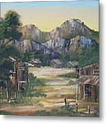 Forgotten Village Metal Print