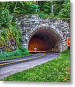 Fork Mountain Tunnel Metal Print