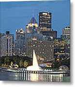 Forks Of The Ohio Metal Print