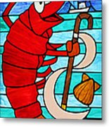 Formal Lobster Metal Print