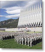 Formation Metal Print