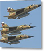 Formation Of Royal Moroccan Air Force Metal Print