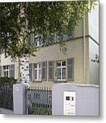 former home of Anne Frank Marbachweg Frankfurt am Main Germany Metal Print