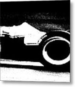 Formula 1 Racer In Action Metal Print