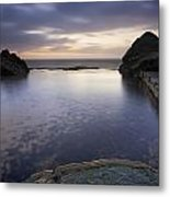 Forresters Beach Sunrise 4 Metal Print by Steve Caldwell