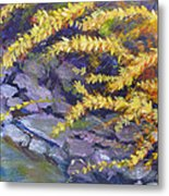 Forsythia Creek Metal Print