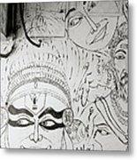 Cochin Graffiti Metal Print