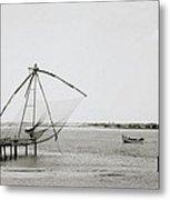 Fort Cochin Metal Print