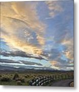 Fort Collins Sunset Metal Print by Ray Mathis
