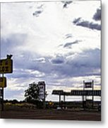 Fort Courage Trading Post Metal Print
