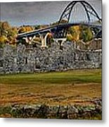 Fort Crown Point At Lake Champlain Metal Print