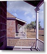 Fort Davis Perspective Metal Print