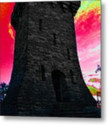Fort Ethan Allen Abstract Metal Print