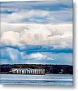 Fort Gorges Metal Print