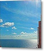 Fort Lauderdale Ocean View Metal Print