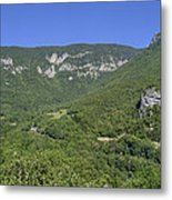 Fort L'ecluse - In The Rocks Metal Print