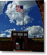Fort Mchenry Main Gate Metal Print