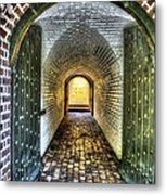 Fort Moultrie Door Metal Print