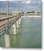 Fort Myers Beach Metal Print