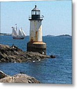 Fort Pickering Light Metal Print