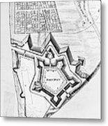 Fort Pitt, 1761 Metal Print
