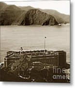 Fort Point And The Golden Gate San Francisco Circa 1890 Metal Print