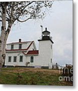 Fort Point Lighthouse 9239 Metal Print