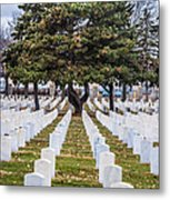 Fort Snelling National Cemetery Metal Print