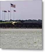 Fort Sumter Metal Print