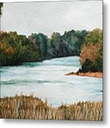 Fort Toulouse Coosa Tallapoosa River Metal Print
