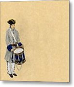 Fort Toulouse Drummer Boy Metal Print