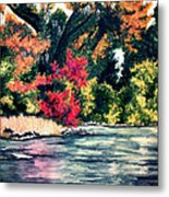 Fort Toulouse Tallapoosa River Flair Metal Print