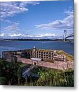 Fort Wadsworth Metal Print
