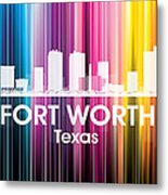 Fort Worth Tx 2 Metal Print