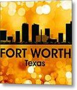 Fort Worth Tx 3 Metal Print