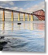 Forth Railway Bridge Metal Print