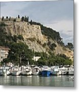 Fortress And Harbor Cassis Metal Print