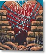 Fortress Around Your Heart Metal Print