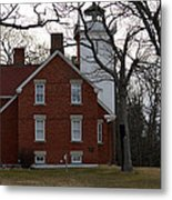Forty Mile Point Lighthouse Metal Print