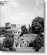 Forum Romanum Rome Italy Metal Print