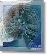 Fossil Ocean Metal Print