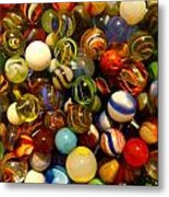 Found My Marbles Metal Print
