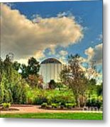 Founders Hall From The Garden Metal Print