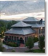 Foundry Building In The Morning Metal Print
