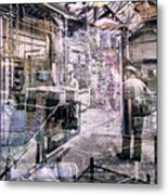 Foundry Workers Metal Print