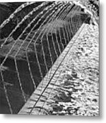 Fountain Art Metal Print