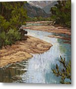 Fountain Creek Metal Print