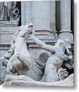 Fountain Di Trevi Metal Print