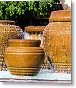 fountain downtown PS Metal Print