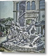 Fountain Of Bacchus Metal Print by Jeff Swanson